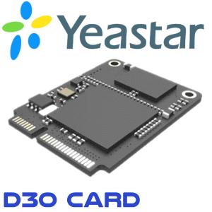 Yeastar D30 Card Kampala Uganda