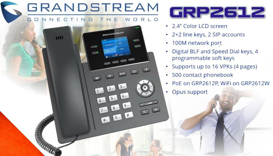 grandstream grp2612 ip phone