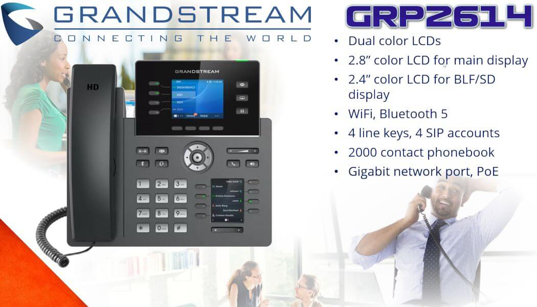 Grandstream GRP2614 IP telephone